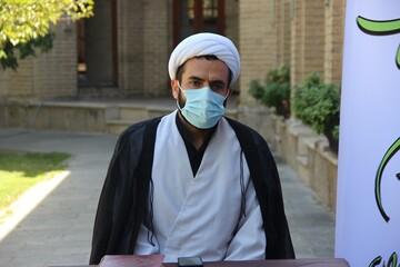 تعامل کمیته امداد با مدارس علمیه قزوین برای کمک به نیازمندان