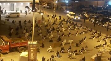 دهها هیئت حسینی در بحرین مراسم عزاداری برگزار کردند  + تصاویر