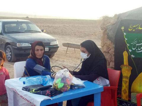 تصاویر| اردوی جهادی طلاب اسفراینی در مناطق عشایری