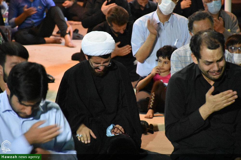 تصاویر/ مراسم عزاداری سالار شهیدان در گلستان شهدای اصفهان