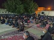 تصاویر/مراسم عزای اباعبدالله الحسین (ع) در مدرسه علمیه امام صادق(ع) قروه