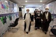 تصاویر/ بازدید آیت الله رجبی عضو شورای عالی حوزه از نمایشگاه دستاوردهای معاونت آموزش حوزه