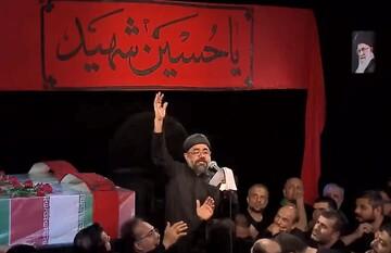 فیلم |  مدح زیبای حضرت زینب(س) با نوای محمود کریمی