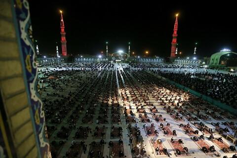 عزاداری هیئت فاطمیون در مسجد مقدس جمکران