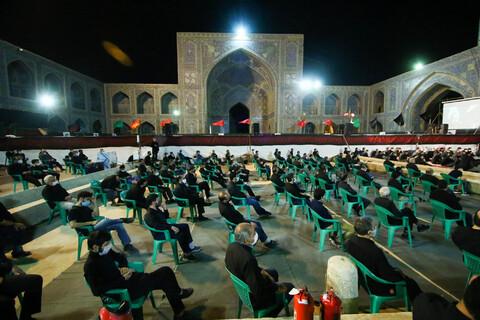 تصاویر/ مراسم سوگواری ابا عبد الله الحسین(ع) در مسجد امام(ره) اصفهان
