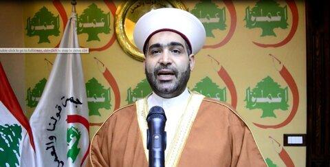 شیخ احمد القطان روحانی اهل سنت لبنان