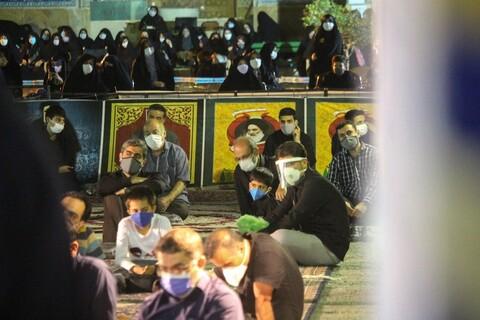 مراسم سوگواری اباعبدالله الحسین(ع) مجموعه رهپویان وصال در مدرسه علمیه امام صادق اصفهان