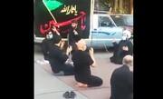 فیلم | نوحهخوانی میثم مطیعی در خیابان