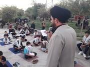 اجرای طرح سخنرانی و روضه خوانی صلواتی به همت طلاب جهادی در قم