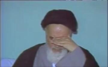 فیلم قدیمی از روضه خوانی مرحوم فلسفی برای امام خمینی (ره)