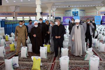 تصاویر/ چهارمین مرحله رزمایش احسان و همدلی در خراسان شمالی