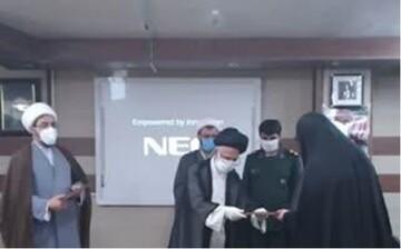طلاب بسیجی جهادگر در عرصه مقابله با کرونا تجلیل شدند