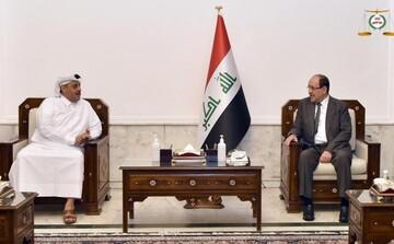 المالكي لسفير قطر: أوضاع المنطقة تعيش حالة من عدم الاستقرار ويجب توحيد الجهود