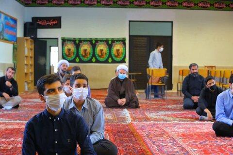 دوره میثاق طلبگی طلاب جدیدالورود مدرسه علمیه امیرالمومنین (ع) تبریز