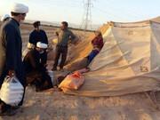 تصاویر/ خدمات جهادی هیئت ثارالله(ع) حوزه علمیه اسفراین در مناطق محروم