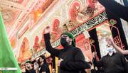 بالصور/ شاهد مراسيم عاشوراء في مدينة كربلاء المقدسة في يوم السادس من شهر محرم