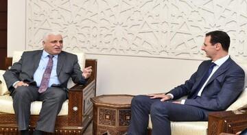 نخستوزیر عراق به بشار اسد نامه نوشت
