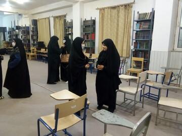 تصاویر / بازدید نماینده مردم مرند و جلفا در مجلس شورای اسلامی از مدرسه علمیه فاطمیه جلفا