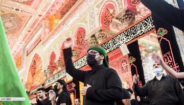 تصاویر/حال و هوای حرم حضرت ابا عبد الله الحسین(ع) در روز ششم محرم