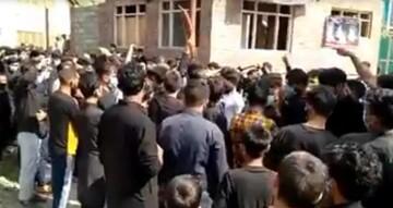 حمله نیروهای نظامی هند به عزاداران حسینی در کشمیر