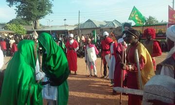 برگزاری تعزیه حضرت علیاکبر(ع) در ایالت کادونا نیجریه +تصاویر