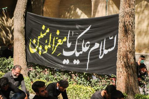 مراسم سوگواری ابا عبد الله الحسین(ع)در گذر فرهنگی چهارباغ اصفهان
