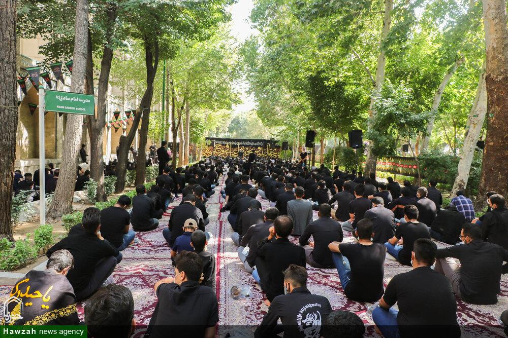 تصاویر/ مراسم سوگواری ابا عبدالله الحسین(ع) در گذر فرهنگی چهارباغ اصفهان