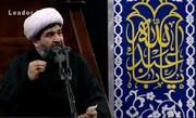 فیلم | مداحی حجت الاسلام مرتضی وافی شب هفتم محرم در حضور رهبر انقلاب