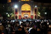 تصاویر/ مراسم عزاداری هیئت ثارالله مدرسه علمیه فیضیه