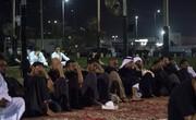 عزای حسینی در عربستان با رعایت پروتکلهای بهداشتی +فیلم