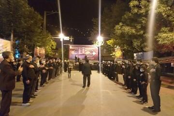تصاویر/ مراسم عزاداری امام حسین (ع) در سلماس با سخنرانی امام جمعه این شهرستان