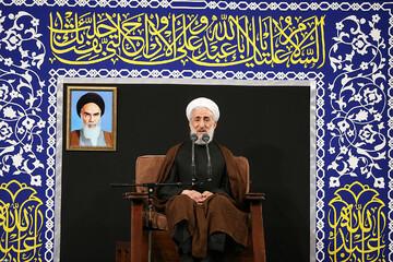 فیلم | سخنرانی حجت الاسلام والمسلمین صدیقی شب هفتم محرم در حضور رهبر معظم انقلاب