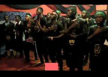 فیلم | عزاداری شیعیان نیجریه در ابوجا