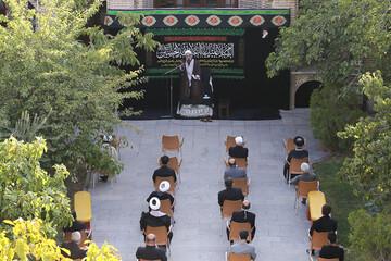 تصاویر/  مراسم عزاداری روز هفتم محرم در مدرسه علمیه شیخ الاسلام قزوین