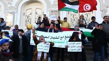 مخالفت شخصیتهای تونسی با عادیسازی روابط با اسرائیل