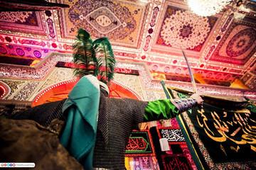 برگزاری مراسم ویژه حضرت عباس (ع) در کربلا +  تصاویر