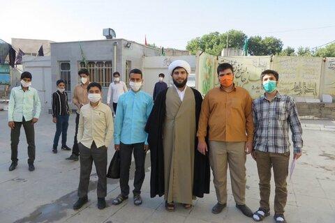 تصاویر/  حضور داوطلبان حوزه در مدرسه علمیه حضرت ولی عصر(عج) کنگاور