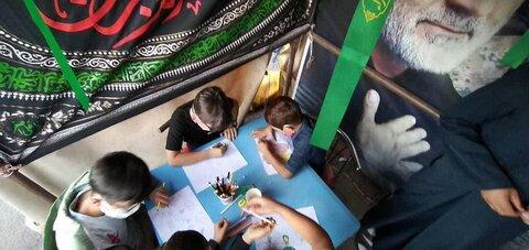 تصاویر شما/ ایستگاه فرهنگی تبلیغی توسط طلاب شهرستان گرمی