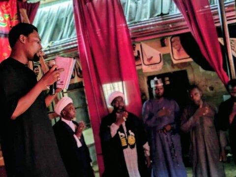 هشتمین شب از دهه اول ماه محرم در پایتخت نیجریه