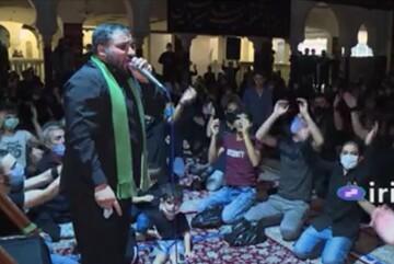 فیلم | حال و هوای شهر دمشق در ایام محرم