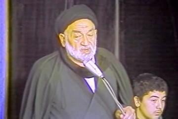 صوت | روضه حضرت عباس(ع) توسط مرحوم کوثری در حضور امام خمینی(ره)