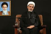 فیلم | سخنرانی حجتالاسلام والمسلمین رفیعی شب تاسوعا در حضور رهبر معظم انقلاب