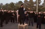 فیلم | مداحی حاج محمود کریمی در گلزار شهدای بهشت زهرا