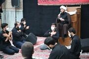 تصاویر/ مراسم عزاداری اباعبدالله الحسین(ع) در مدرسه علمیه مروی تهران