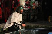 تصاویر/ آئین تعزیهخوانی شب تاسوعا در همدان