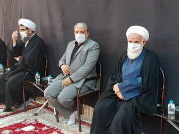 تصاویر/ عزاداری تاسوعای حسینی در زیارت سلطان امیر احمد(ع) کاشان