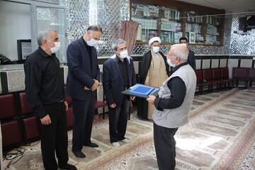 اهدای ۶۰ ویلچر به بیمارستان ها به همت مسجد حضرت ابوالفضل(ع) ارومیه+ تصویر