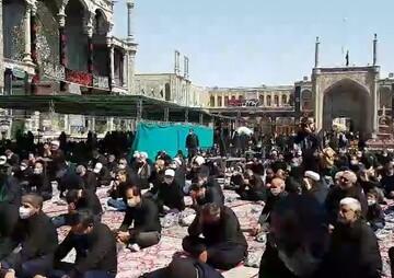 فیلم | عزاداری روز تاسوعای حسینی در قم