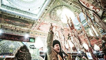 تصاویر/ عزاداری ویژه حضرت قاسم (ع) در کربلای امام حسین (ع)