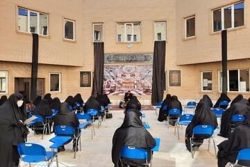 تصاویر/ مراسم عزاداری روز تاسوعا در مدرسه علمیه الزهرا (س) ارومیه